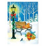 Sale - Sharing the Season Non Personalized Christmas Card Set of 20