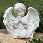 Outdoor Décor - Cherub Garden Statue