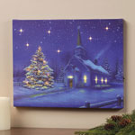Decorations & Storage - LED Church Canvas