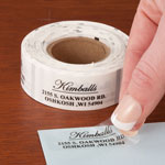 Personalized Labels - Personalized Elegant and Centered Address Labels, 200