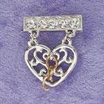 Jewelry & Accessories - Broken Chain Remembrance Pin
