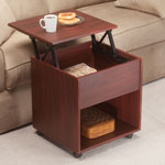 Accent Furniture - Lift Top End Table by OakRidge Accents™