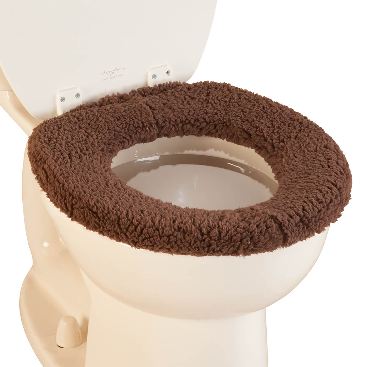 Fabulous Sherpa Toilet Seat Cover By Oakridge Creativecarmelina Interior Chair Design Creativecarmelinacom