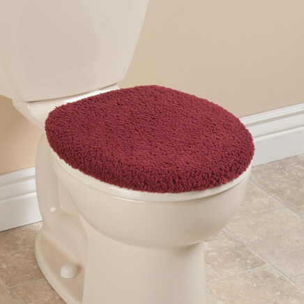 padded toilet seat cover. Sherpa Toilet Seat Lid Cover By OakRidge 351509 Covers  Padded Home Walter Drake