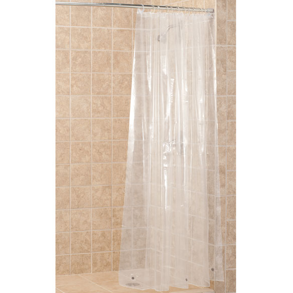Clear shower liners shower curtain liner walter drake