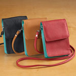 Handbags & Wallets - RFID Blocking On-The-Go Crossbody Bag