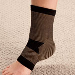 New - Copper Compression Ankle Sleeve