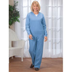 Comfort Clothing - Knit Fleece Pants Set