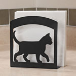 Organization & Decor - Cat Silhouette Napkin Holder