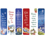 New - Religious Christmas Bookmarks, Set of 12