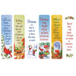 New - Secular Christmas Bookmarks, Set of 12