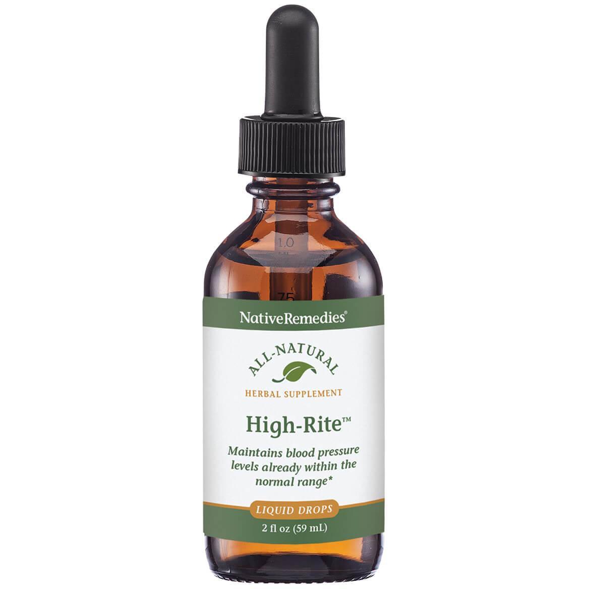 NativeRemedies® High-Rite™ Liquid-351937