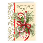 View All Christmas Cards - The Legend of the Candy Cane Personalized Christmas Card - Set of 20