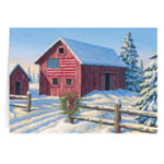 Secular - From the Heartland Personalized Christmas Card - Set of 20