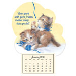 Calendars - Playful Kittens Mini Magnetic Calendar