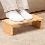 Daily Living Aids & Cushions - Folding Footrest