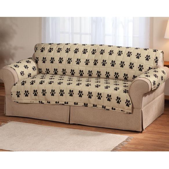 Paw Print Sofa Protector Pet Furniture Covers Walter Drake