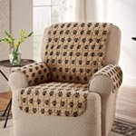 Pets - Paw Print Recliner Cover