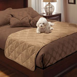 Pets - Twin Size Quilted Bed Protector