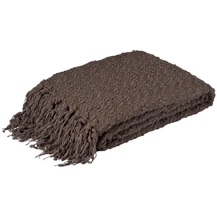 Купить со скидкой The PomPom Yarn Throw by OakRidge Comforts