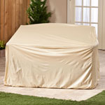 Outdoor Décor - Beige Glider Cover