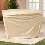 Outdoor Décor - Beige Gas Grill Cover