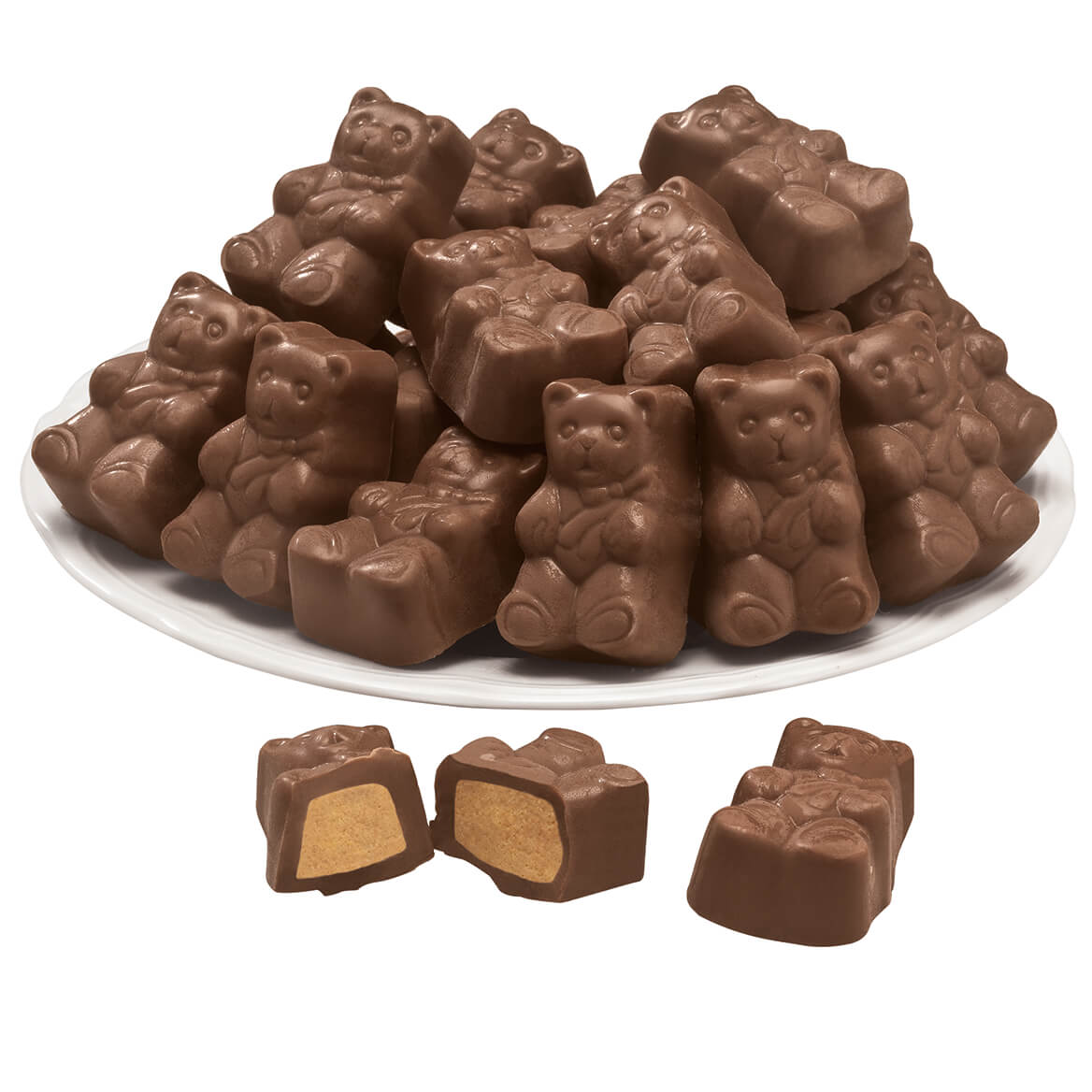 Milk Chocolate Peanut Butter Bears 6.5 oz.-352749