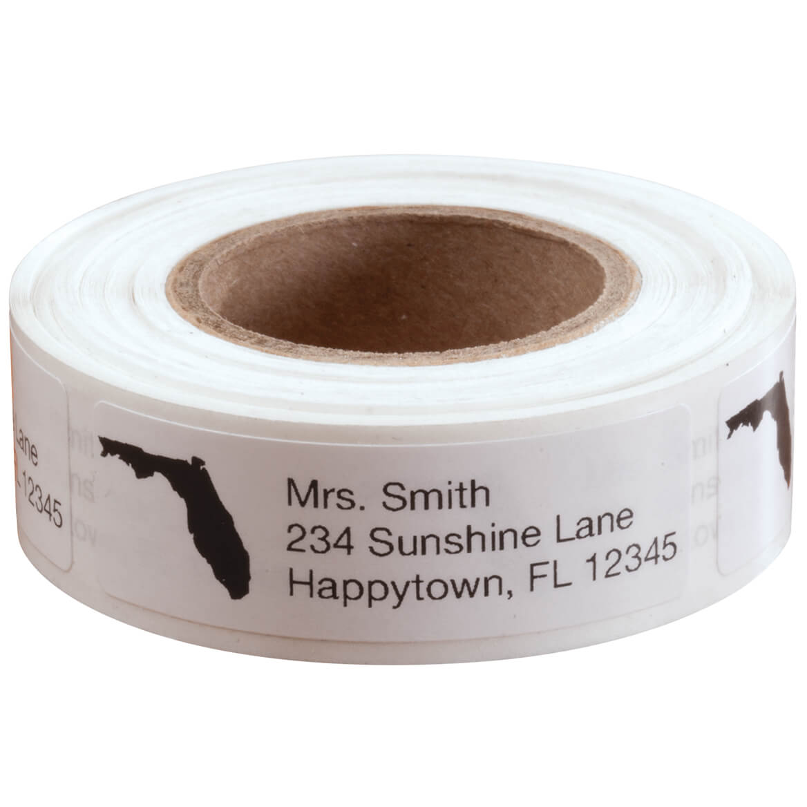 State Silhouette Personalized Address Labels - Roll of 200-352754