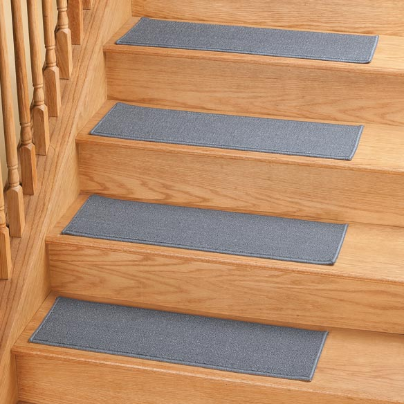 Christmas decorations outdoor wood - Solid Non Slip Stair Treads Stair Treads Walter Drake