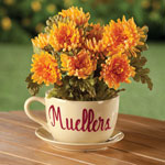 Lawn & Garden - Personalized Teacup Planter