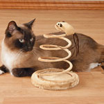 Pets - Spring Cat Toy with Mouse