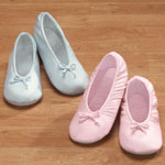 New - Satin Ballet Slippers