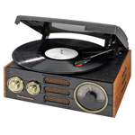 Home Entertainment - Studebaker 3-Speed Turntable with AM/FM Radio