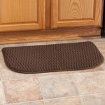 Accent Furniture - Solid Memory Foam Slice Rug