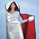 New - Hooded Emergency Blanket by LivingSURE™