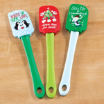 New - Assorted Holiday Spatulas