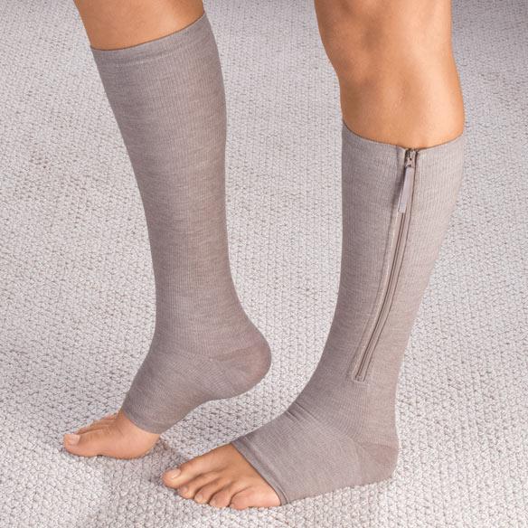 Easy On Compression Socks, 20-30 mmHg - Walter Drake