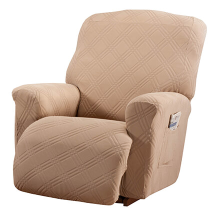 Double Diamond Stretch Recliner Cover 353935