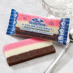 New - Neopolitan Coconut Rainbow Bar, Set of 2