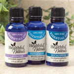 Supplements & Creams - Healthful™ Naturals Respiratory/Immunity Essential Oil Kit
