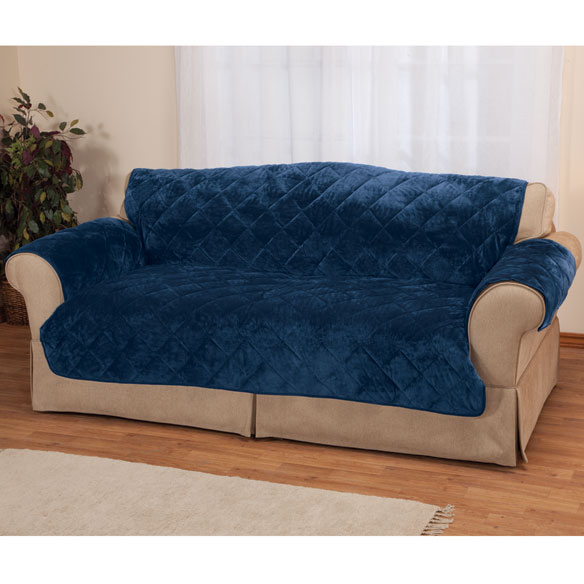 Купить со скидкой Fine Velvet Sofa Protector by OakRidge Comforts
