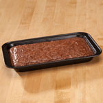 Toaster Oven Brownie Pan by Home-Style Kitchen, Black