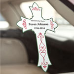 New - Personalized Memorial Window Cling