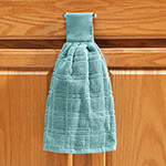 Organization & Decor - Cotton Hanging Towel - Solid