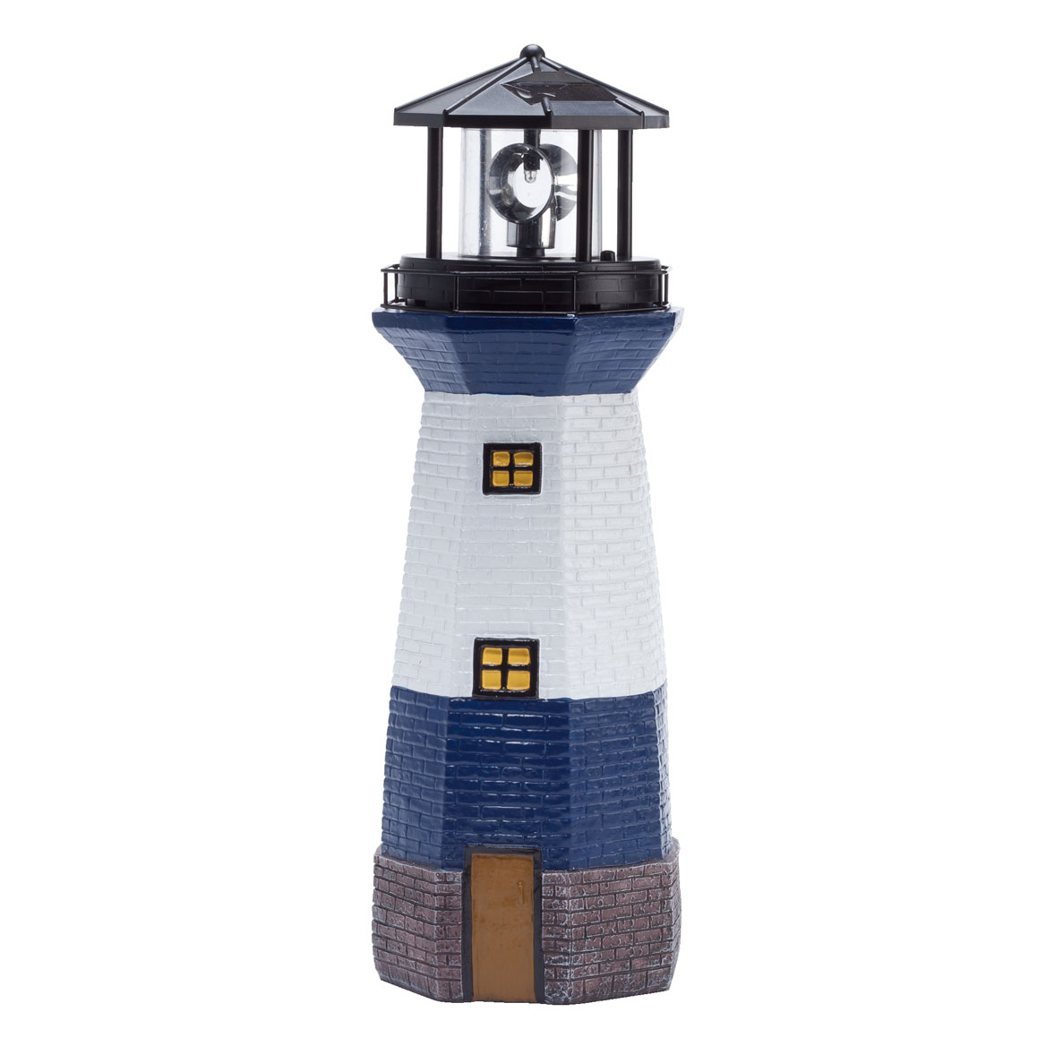 Blue Solar Lighthouse by Fox River Creations™-354598