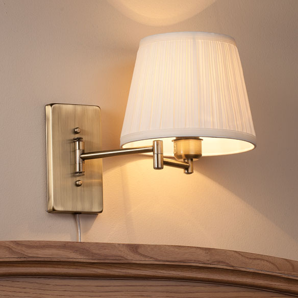 wall mount swing arm lamp by oakridge accents wall lamp walter. Black Bedroom Furniture Sets. Home Design Ideas