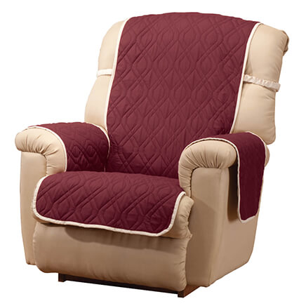 Deluxe Reversible Waterproof Recliner Chair Cover 355161