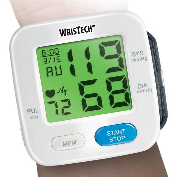 Фото #1: Color Changing Wrist Blood Pressure Monitor
