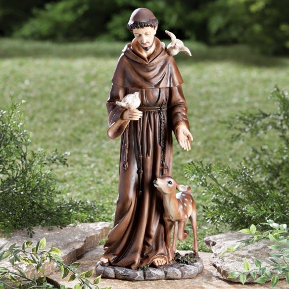 St Francis Statue Outdoor Statue Garden Statue