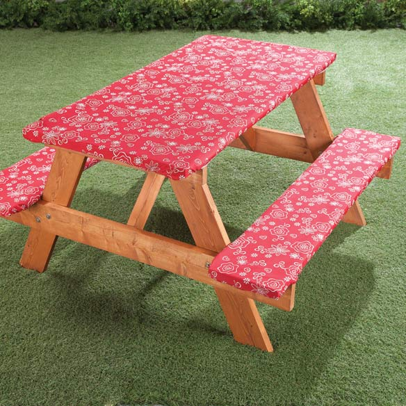 Elastic Picnic Table Covers